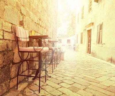 Carta da parati Outdoor cafe