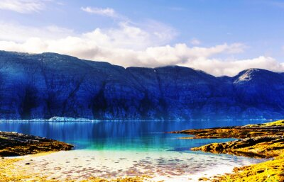 Carta da parati paesaggi Norvegia