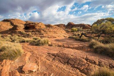 Carta da parati Paesaggio del canyon Re nel Territorio del Nord, Australia.