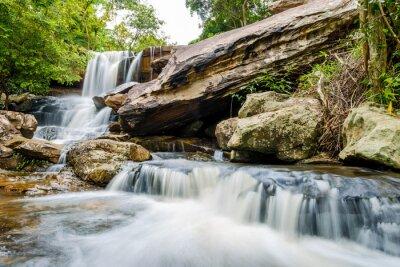 Carta da parati paesaggio di cascata