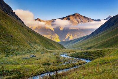 Carta da parati paesaggio di montagna