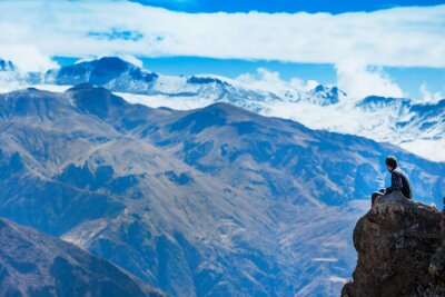 Carta da parati paesaggio Perù