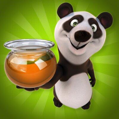 Carta da parati Panda Fun