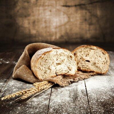 Carta da parati pane