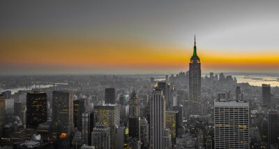Carta da parati panorama di Manhattan, New York