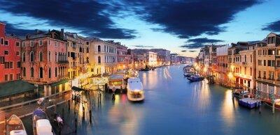 Carta da parati Panorama di Venezia dal ponte di Rialto