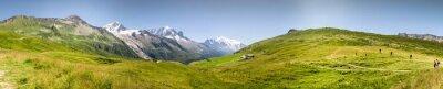 Carta da parati Panorama Mont Blac