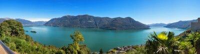 Carta da parati Panoramica del Lago Maggiore