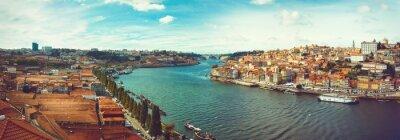 Carta da parati Panoramica sul Douro a Oporto.