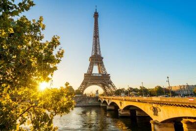 Carta da parati Parigi Torre Eiffel Torre Tour Eiffel