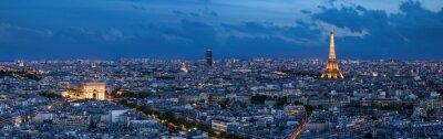 Carta da parati Paris à l'heure bleue