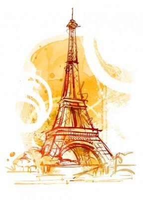 Carta da parati Paris Estate