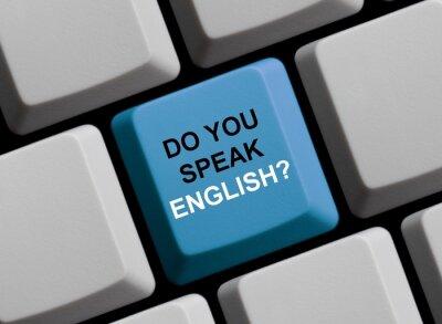 Carta da parati Parli inglese? Sprechen Sie Englisch?