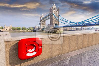 Carta da parati Particolare vista di London Bridge