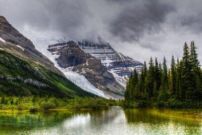 Carta da parati Passeggiate Berg Lake Trail