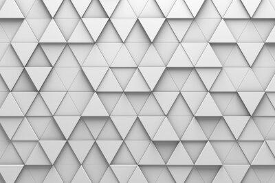Carta da parati Pavimento triangolare 3D Pattern Wall