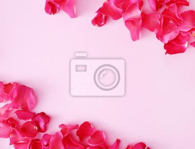 Carta da parati petali rossi