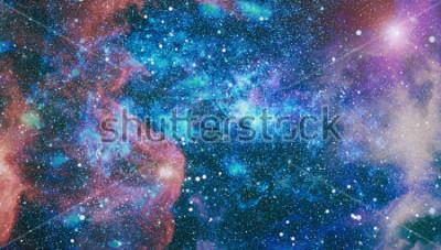 Carta da parati pianeti, stelle e galassie nello spazio esterno che mostra la bellezza dell'esplorazione dello spazio. Elementi forniti dalla NASA