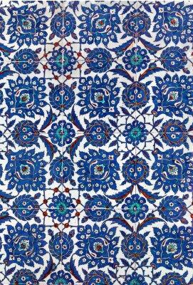 Carta da parati Piastrelle di ceramica turca, Istanbul