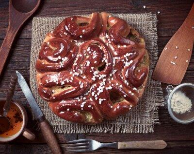 Carta da parati Pie e utensili da cucina