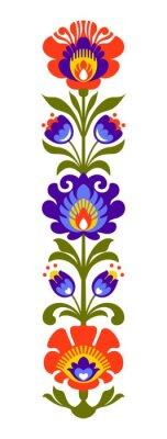 Carta da parati Polacco fiori popolari Papercut