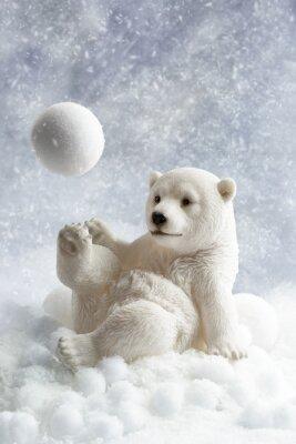 Carta da parati Polar Bear Decoration
