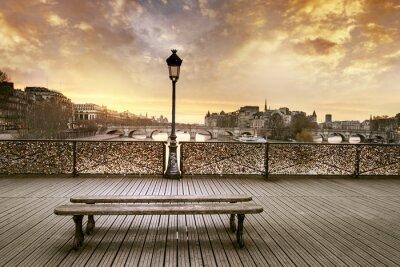 Carta da parati Pont des arts di Parigi