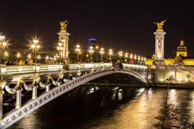 Carta da parati Ponte del Alexandre III a Parigi
