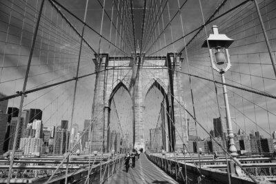 Carta da parati Ponte di Brooklyn, New York