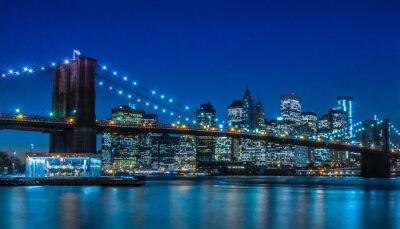 Carta da parati Ponte di Brooklyn NYC Skyline
