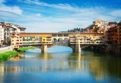 Carta da parati Ponte Vecchio, Firenze, Italia