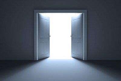 Carta da parati Porte aperte