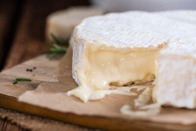 Carta da parati Porzione di Camembert cremoso