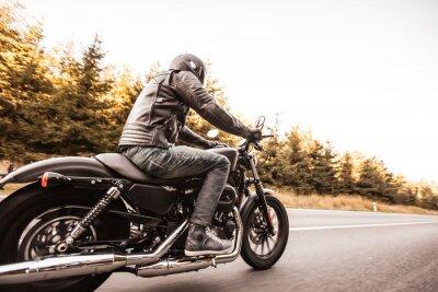 Carta da parati Primo piano di una moto ad alta potenza