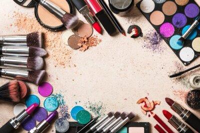 Carta da parati prodotti di bellezza