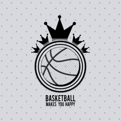 Carta da parati progettazione campionato di basket