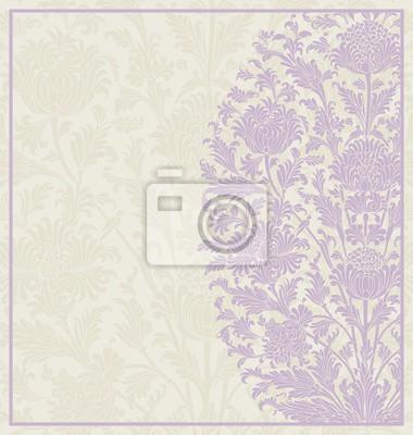 Carta da parati progettazione di nozze, motivo floreale paisley, India