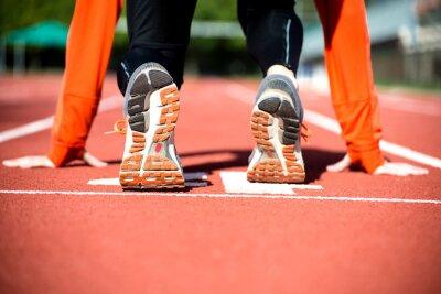 Carta da parati Pronto a sprint