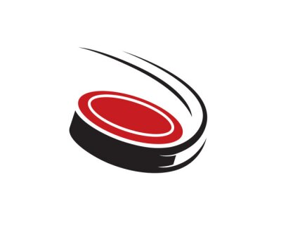 Carta da parati Puck Drops Hockey