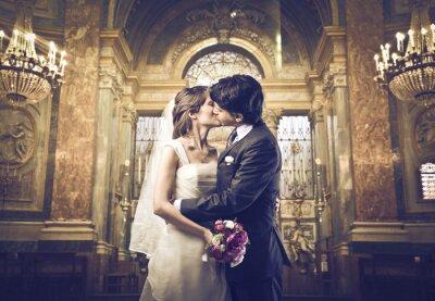 Carta da parati Puoi baciare la sposa
