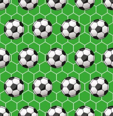 Carta da parati Reticolo senza giunte di calcio