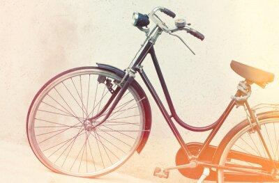 Carta da parati retrò bicicletta
