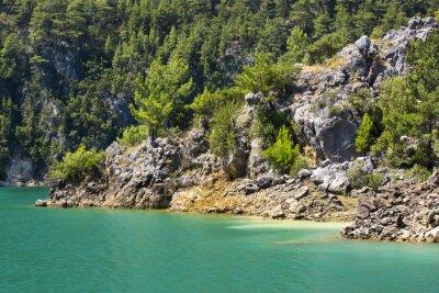 Carta da parati Riserva naturale di Big Green Canyon in Turchia