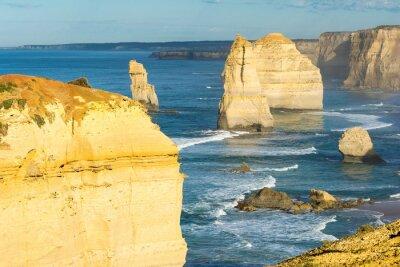 Carta da parati Rocce dei Dodici Apostoli lungo la costa australiana