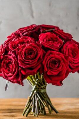 Carta da parati Rose rosse