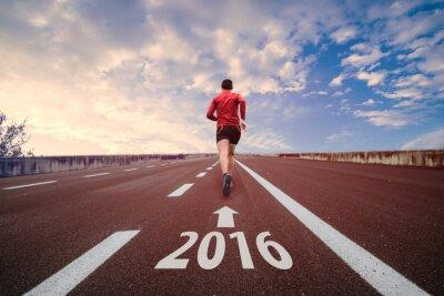 Carta da parati Run in 2016