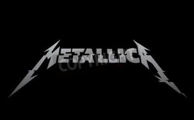 Carta da parati RUSSIA - 09 FEBBRAIO 2017: nuovo logo Metallica
