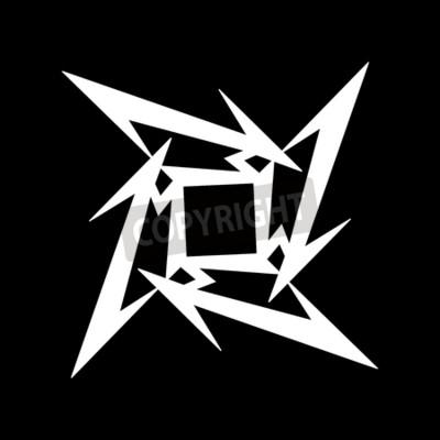 Carta da parati RUSSIA - 09 FEBBRAIO 2017: Simbolo Metallica
