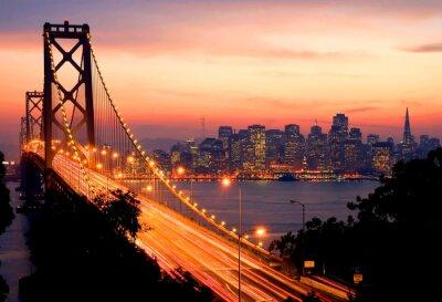 Carta da parati San Francisco Sunset