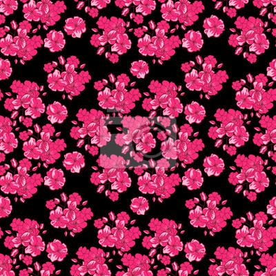 San Valentino Sfondo Con Fiori Rosa Giapponese Fiore Di Ciliegio